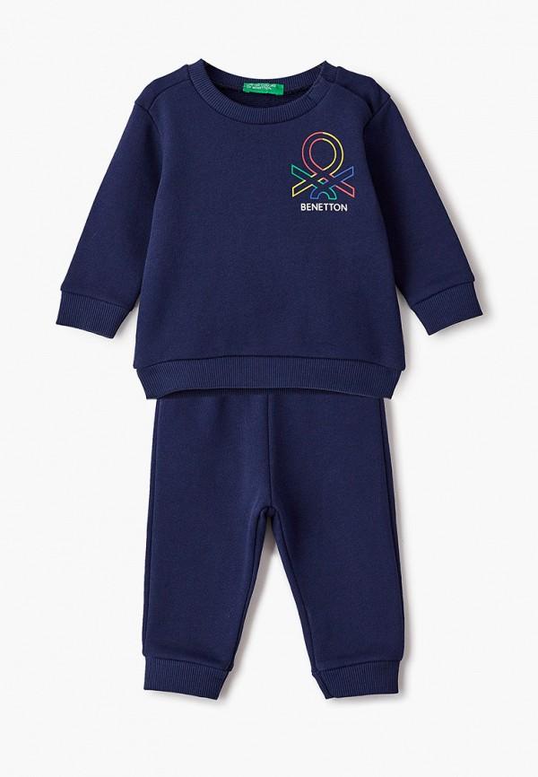 спортивный костюм united colors of benetton для мальчика, синий