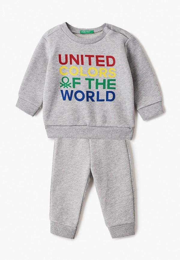 спортивный костюм united colors of benetton для мальчика, серый