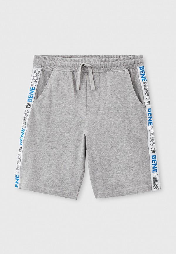 спортивные шорты united colors of benetton для мальчика, серые