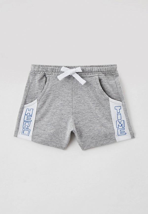 шорты united colors of benetton для мальчика, серые