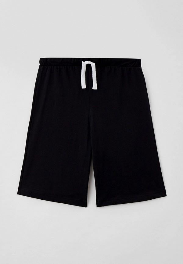 шорты united colors of benetton для мальчика, черные