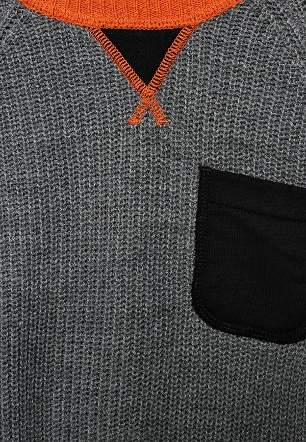 Фото 3 - Джемпер United Colors of Benetton серого цвета