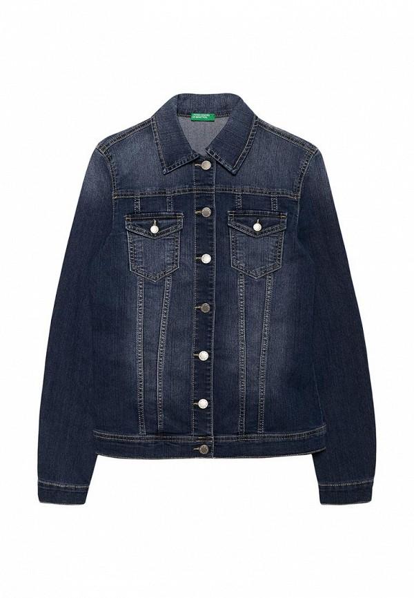 цена на Куртка джинсовая United Colors of Benetton United Colors of Benetton UN012EGABLA4