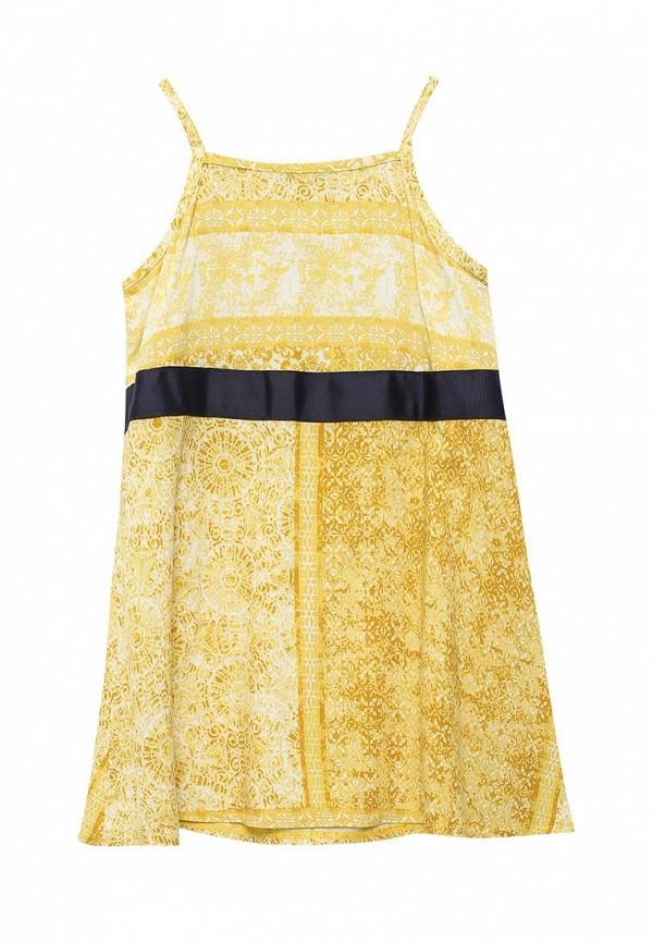 сарафан united colors of benetton для девочки, желтый