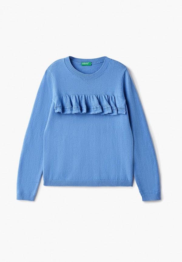 джемпер united colors of benetton для девочки, голубой