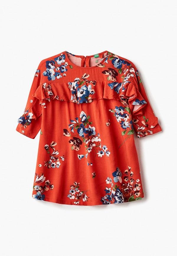 Купить Платье United Colors of Benetton, UN012EGCAAM3, красный, Осень-зима 2018/2019