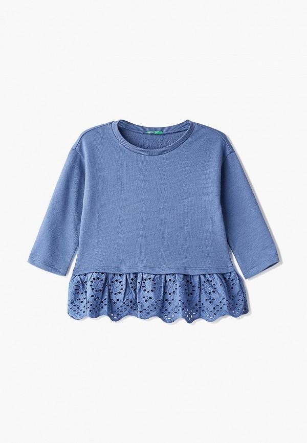 свитшот united colors of benetton для девочки, синий