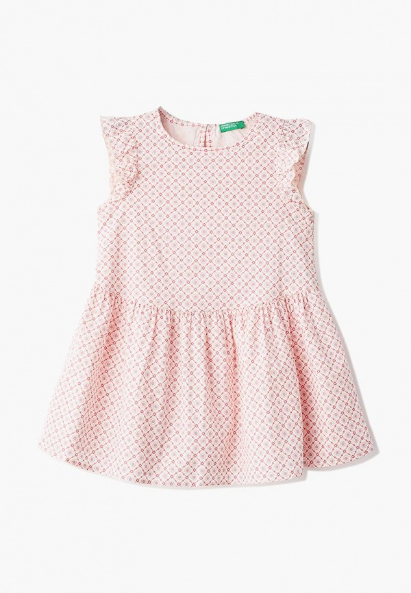 блузка united colors of benetton для девочки, розовая