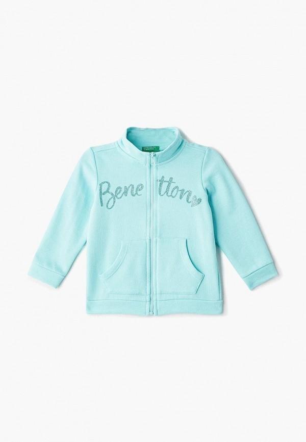 олимпийка united colors of benetton для девочки, голубая
