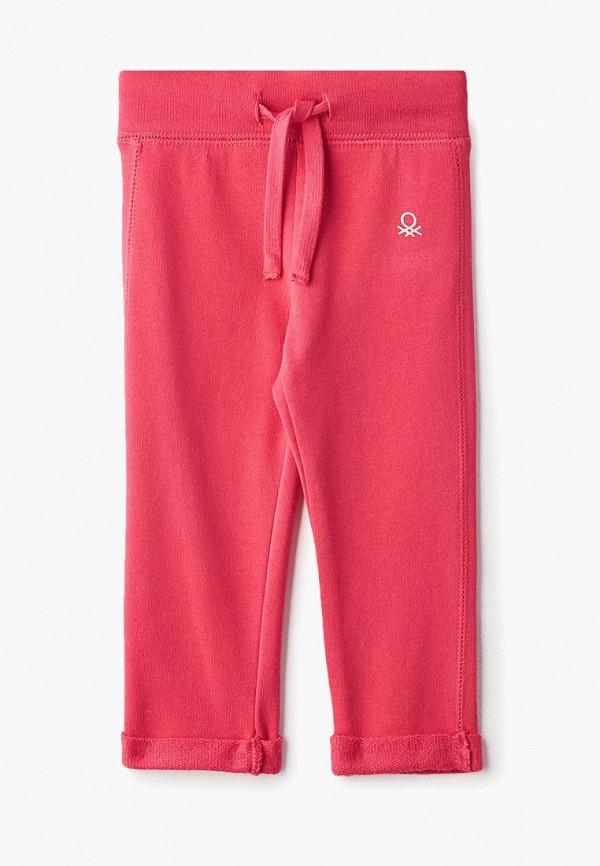 спортивные спортивные брюки united colors of benetton для девочки, розовые