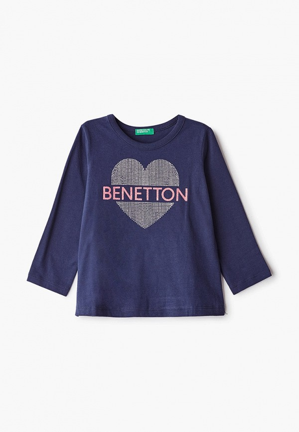 Лонгслив United Colors of Benetton United Colors of Benetton UN012EGFUNN4 лонгслив для девочки united colors of benetton цвет синий 3j68c13k8 13c размер 120