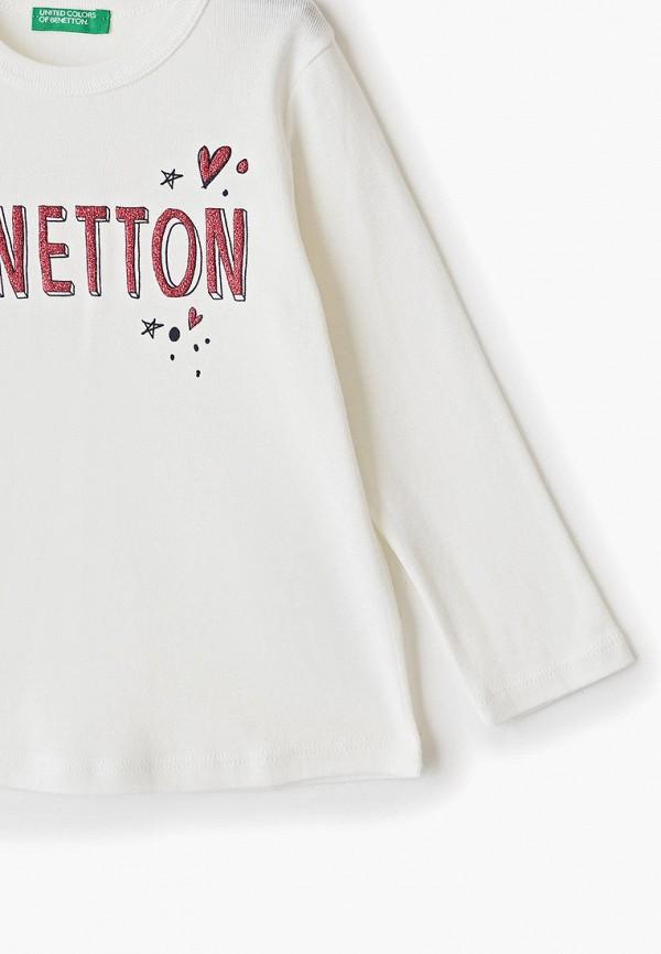 Лонгслив для девочки United Colors of Benetton 3I9WC14AS Фото 3