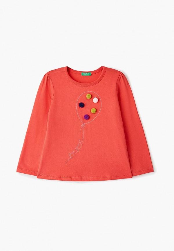 лонгслив united colors of benetton для девочки