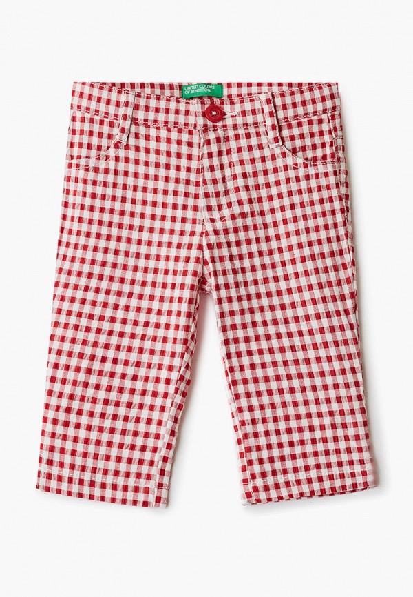 брюки united colors of benetton для девочки, красные