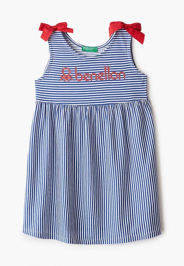 сарафан united colors of benetton для девочки, синий