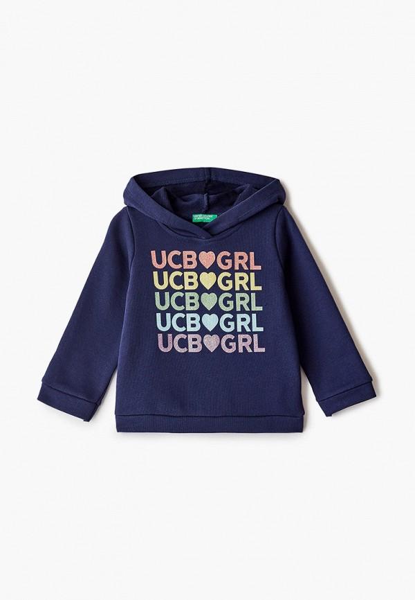 худи united colors of benetton для девочки, синие