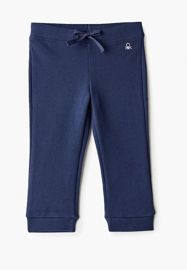 спортивные брюки united colors of benetton для девочки, синие