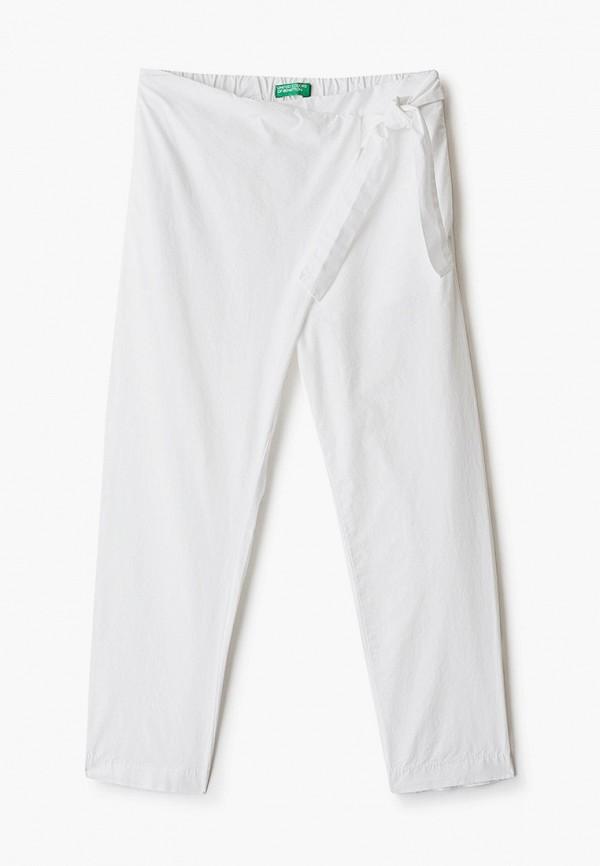 брюки united colors of benetton для девочки, белые