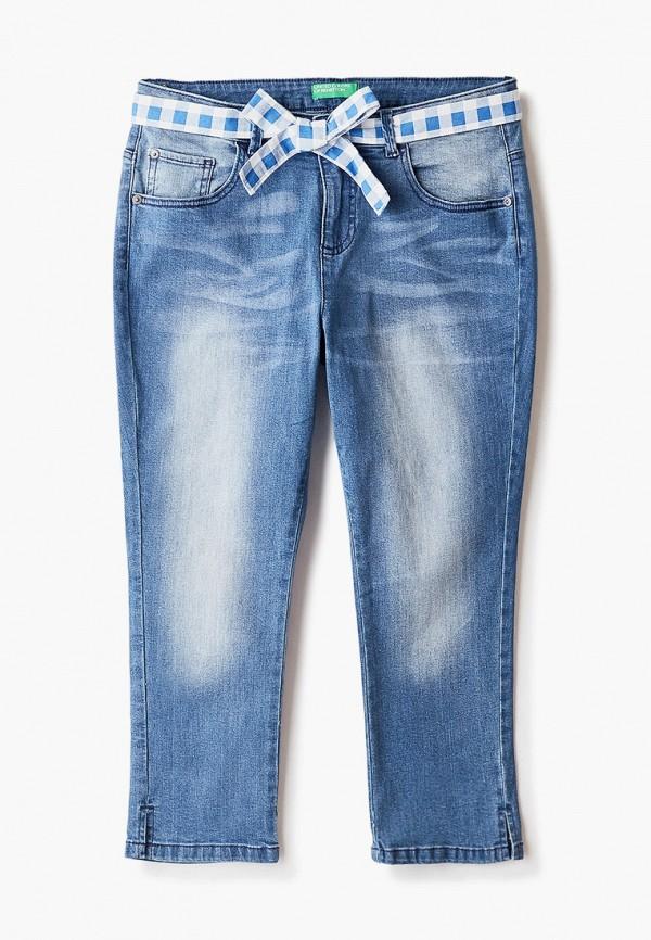 джинсы united colors of benetton для девочки, желтые