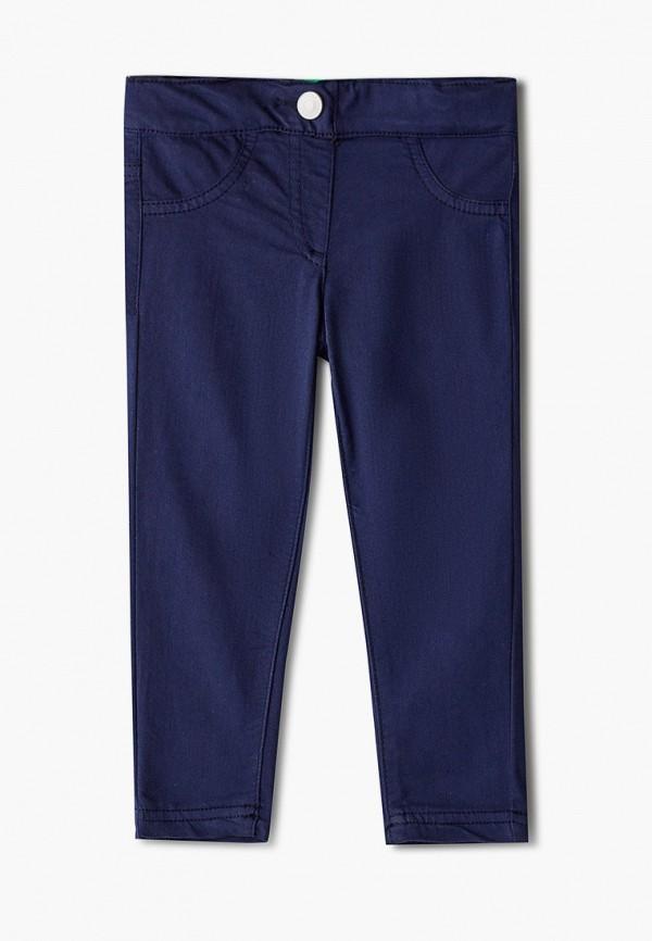 брюки united colors of benetton для девочки, синие