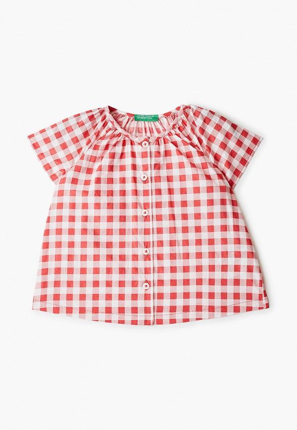 топ united colors of benetton для девочки, красный