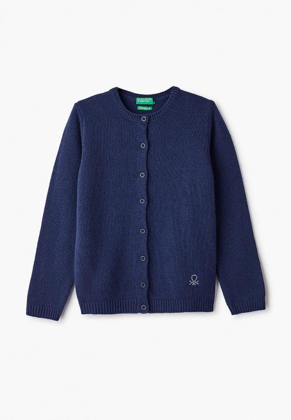 кардиган united colors of benetton для девочки, синий