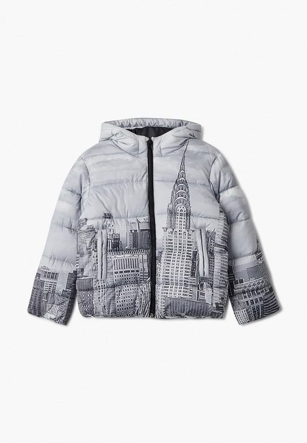 куртка united colors of benetton для девочки, серая