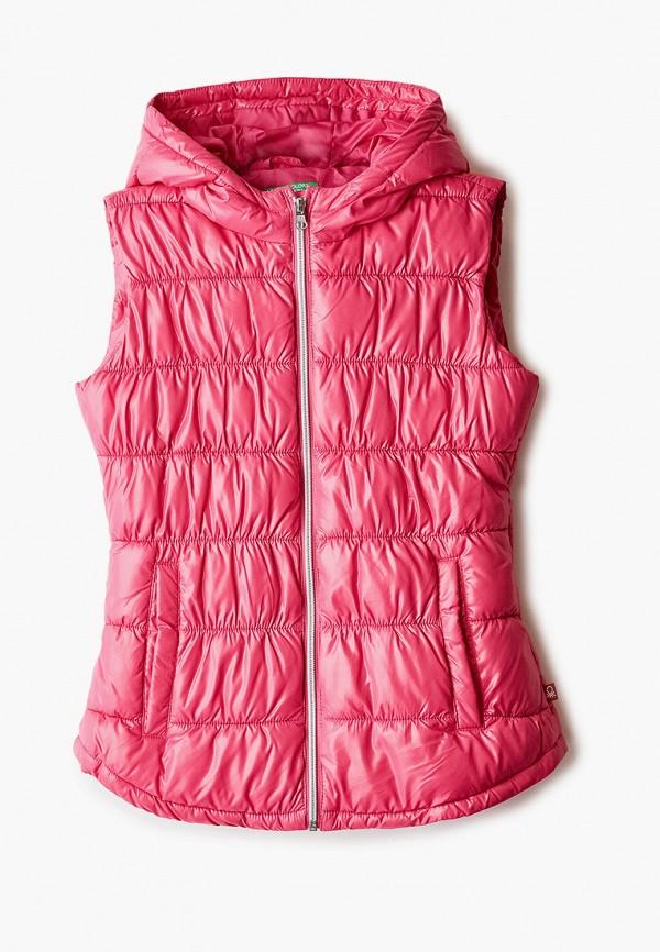 жилет united colors of benetton для девочки, розовый