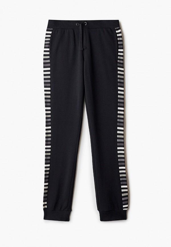 спортивные брюки united colors of benetton для девочки, черные