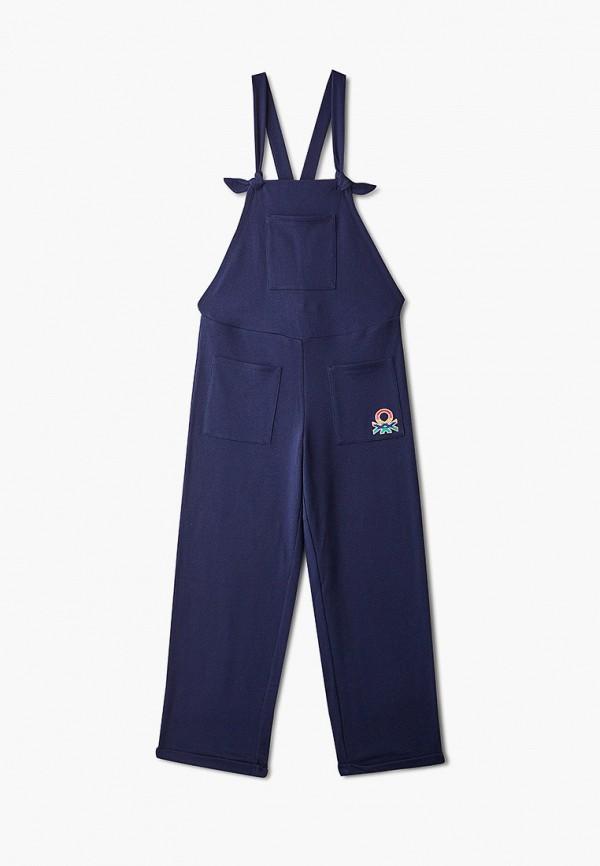 комбинезон с брюками united colors of benetton для девочки, синий