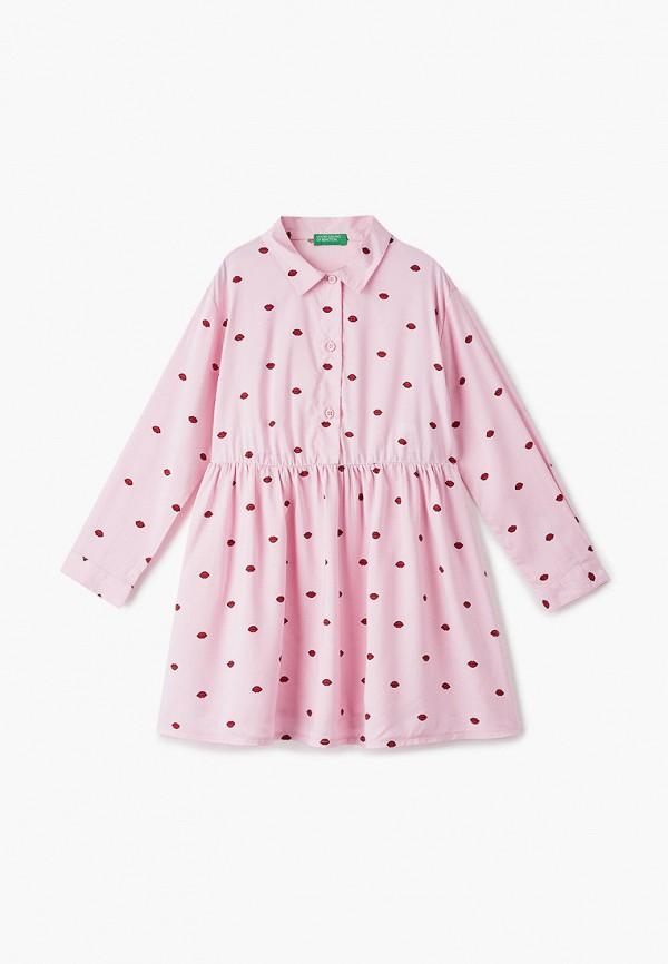 Платья для девочки United Colors of Benetton 4AH05VE20