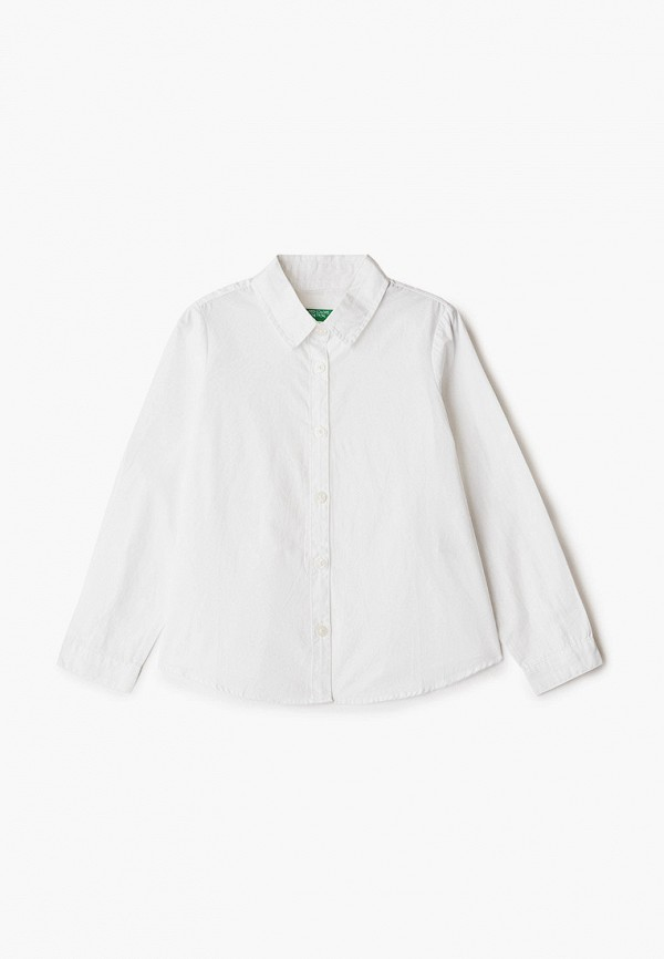 рубашка united colors of benetton для девочки, белая