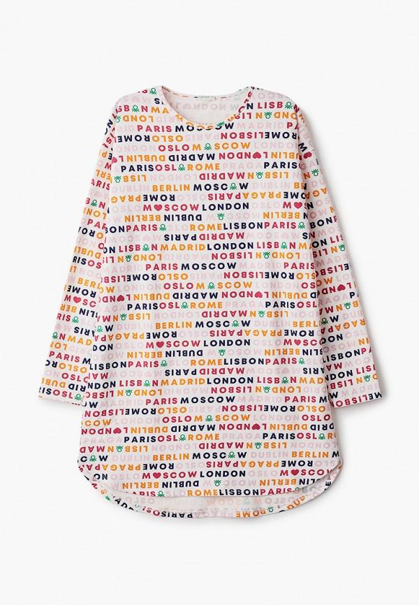 платье united colors of benetton для девочки, белое