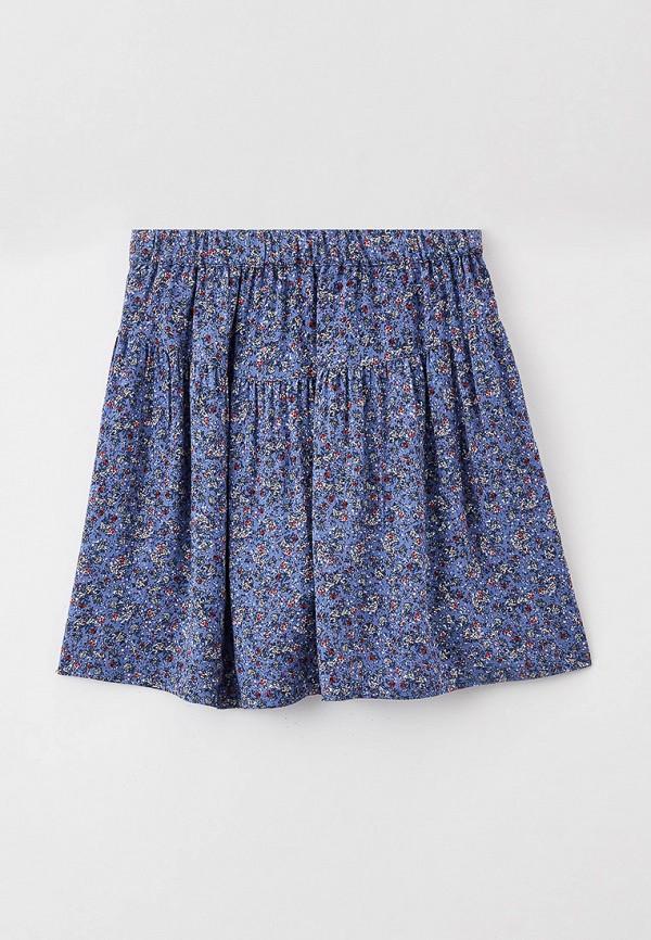 юбка united colors of benetton для девочки, синяя