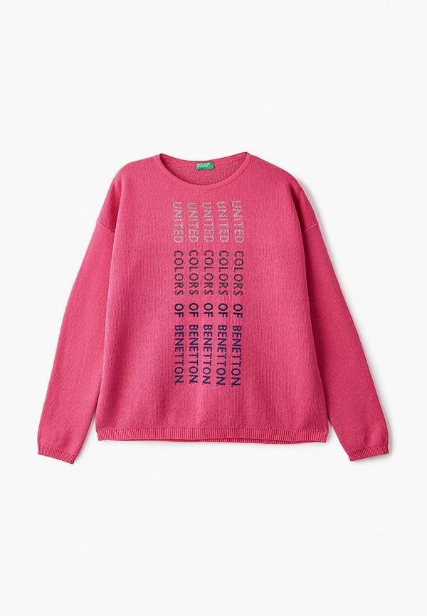 джемпер united colors of benetton для девочки, розовый