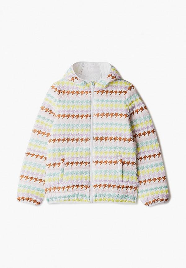 Куртка для девочки утепленная United Colors of Benetton 23DJ53MQ0