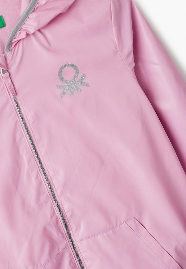 Ветровка для девочки United Colors of Benetton 2EO053HI0 Фото 3