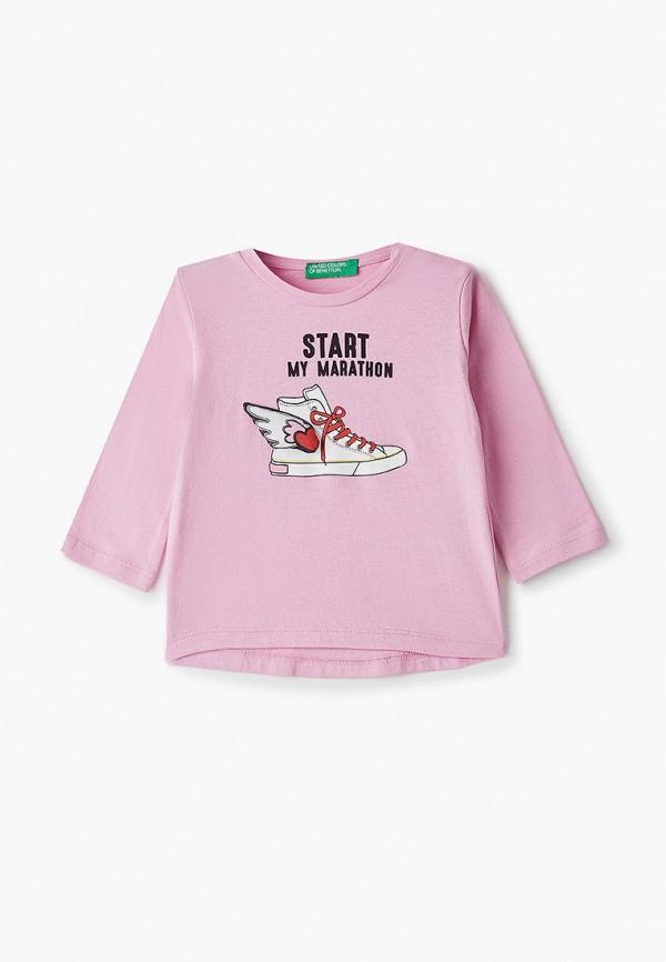 Лонгслив для девочки United Colors of Benetton 3096C154D