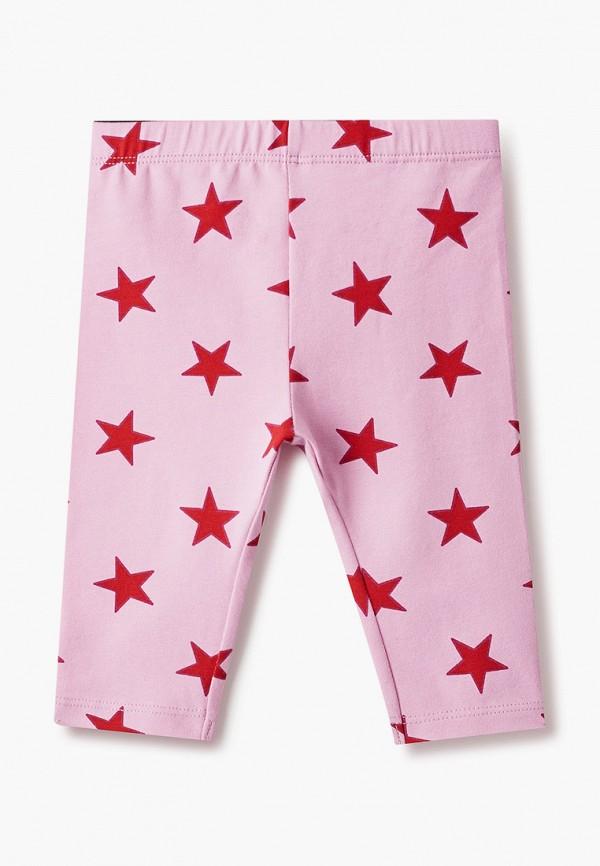 леггинсы united colors of benetton для девочки, розовые