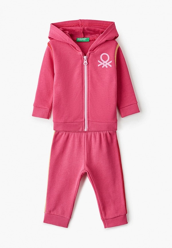 спортивный костюм united colors of benetton для девочки, розовый