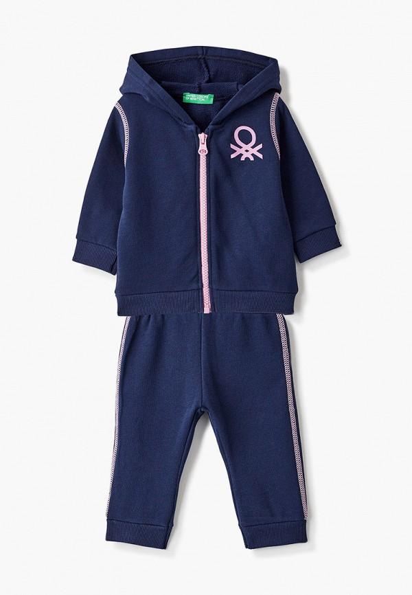 спортивный костюм united colors of benetton для девочки, синий