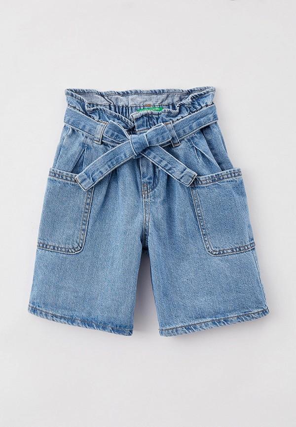 Шорты для девочки джинсовые United Colors of Benetton 4DUY59GB0