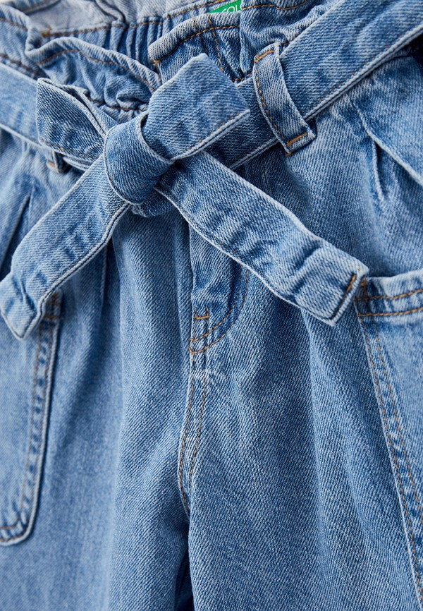 Шорты для девочки джинсовые United Colors of Benetton 4DUY59GB0 Фото 3