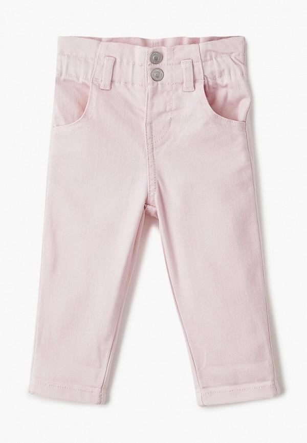 брюки united colors of benetton для девочки, розовые