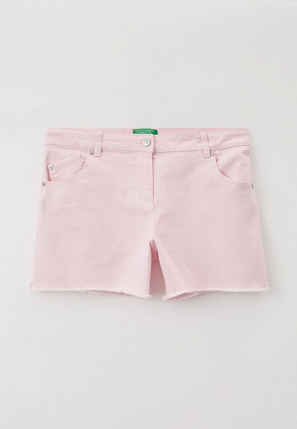 шорты united colors of benetton для девочки, розовые