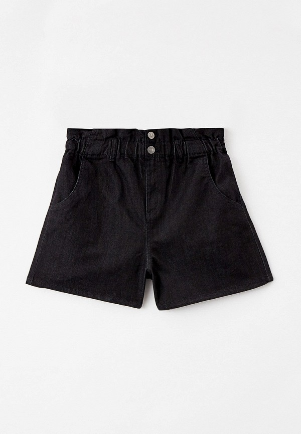 джинсовые шорты united colors of benetton для девочки, черные