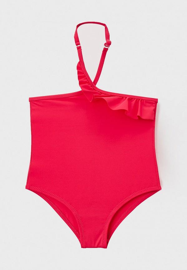 купальник united colors of benetton для девочки, розовый