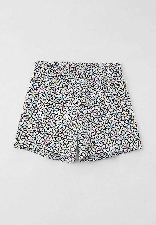 шорты united colors of benetton для девочки, разноцветные