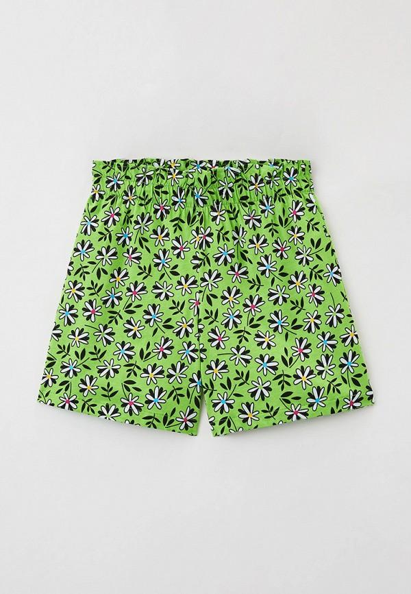 шорты united colors of benetton для девочки, зеленые