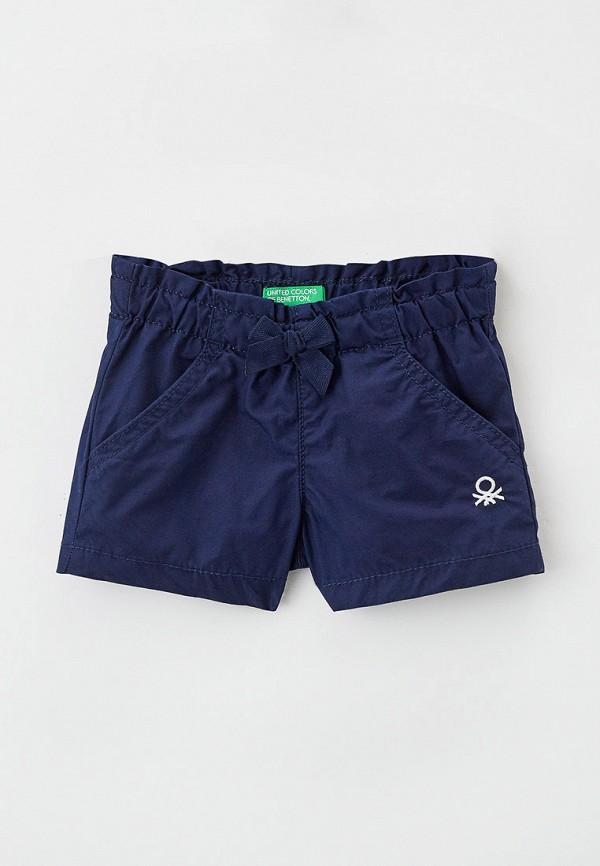 шорты united colors of benetton для девочки, синие